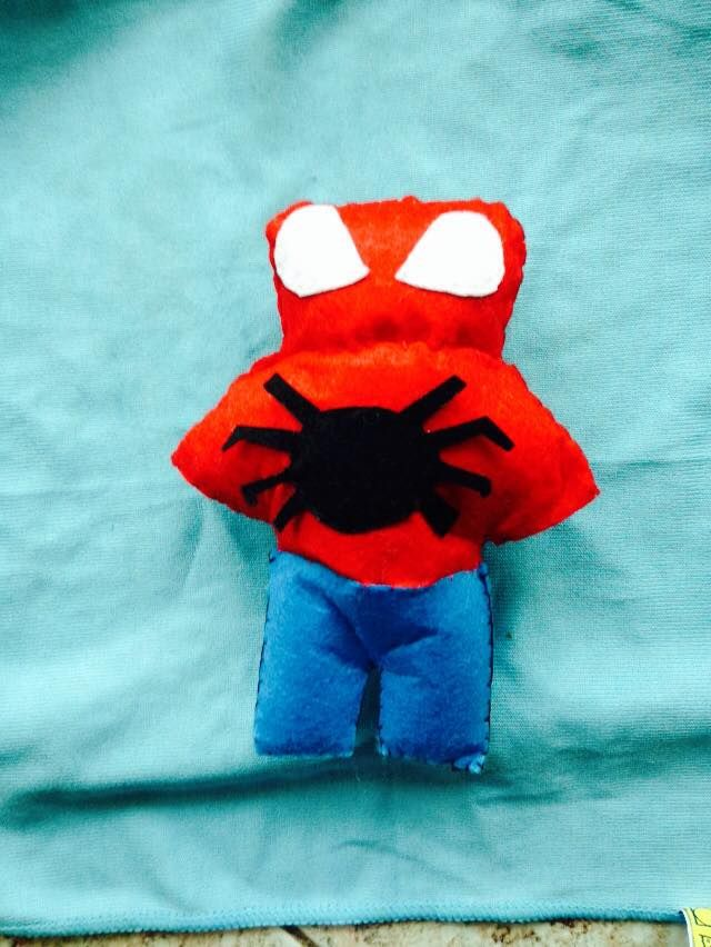 Felt Spiderman