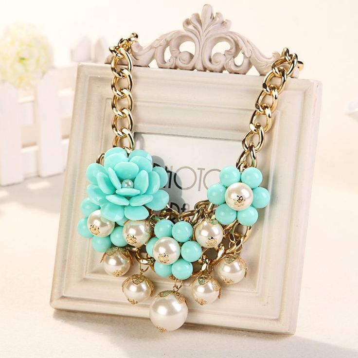 necklace diy cluster - Buscar con Google