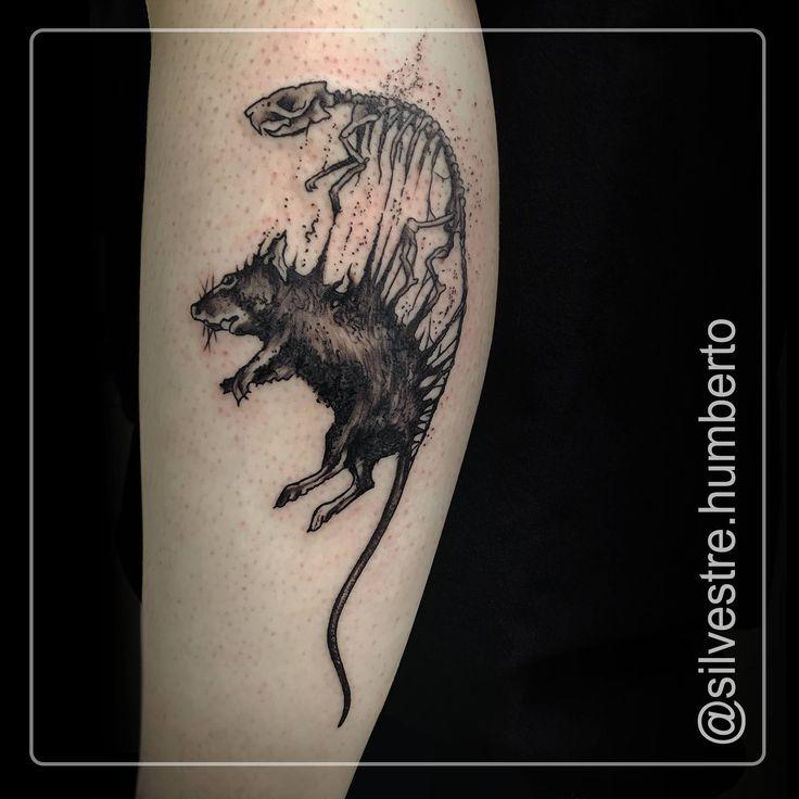 Tattoo Ideas Magazine: Best 25+ Rat Tattoo Ideas On Pinterest
