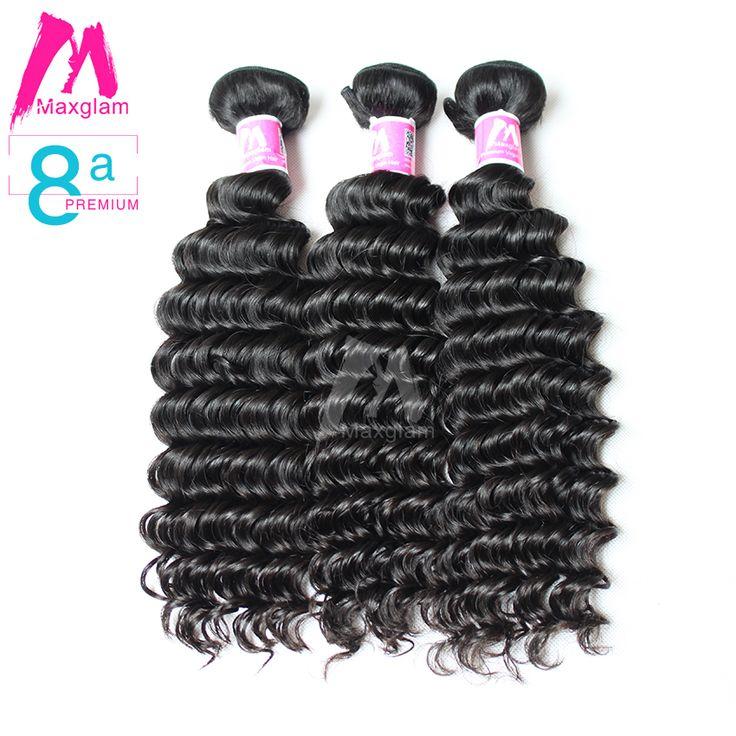 54 best hair weave killa images on pinterest hair weaves virgin find more hair weaves information about 8a premium 3pcs maxglam curly virgin hair brazilian deep wave pmusecretfo Images