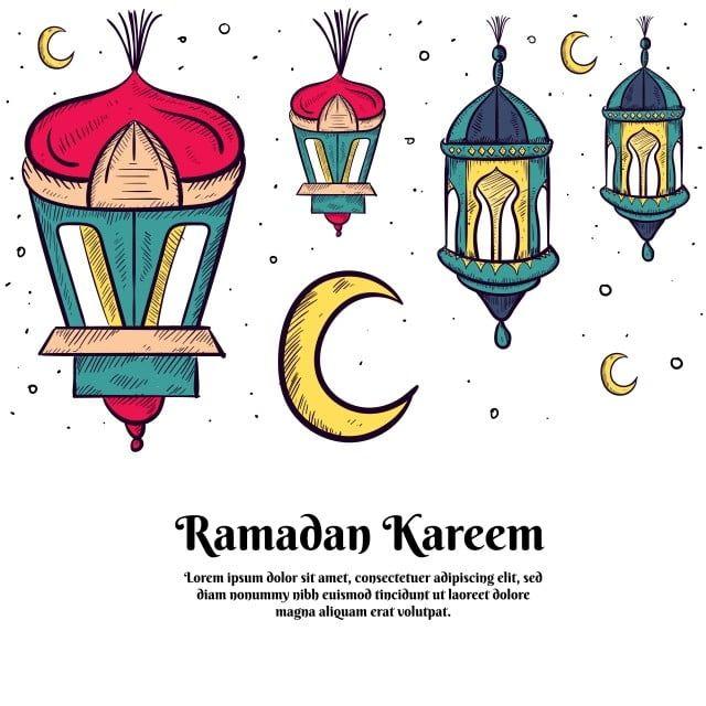 رسم فانوس إسلامي مرسومة باليد لتزيين رمضان كريم وعيد الفطر مرسومة باليد الإسلامية فانوس Png والمتجهات للتحميل مجانا Lantern Illustration Ramadan Kareem Islamic Lantern