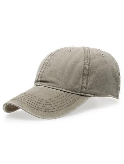 El agua de lavado Do viejo sombrero de béisbol