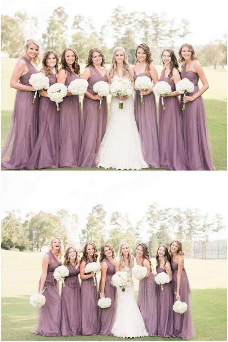 BHLDN purple bridesmaids - alabama lakefront wedding