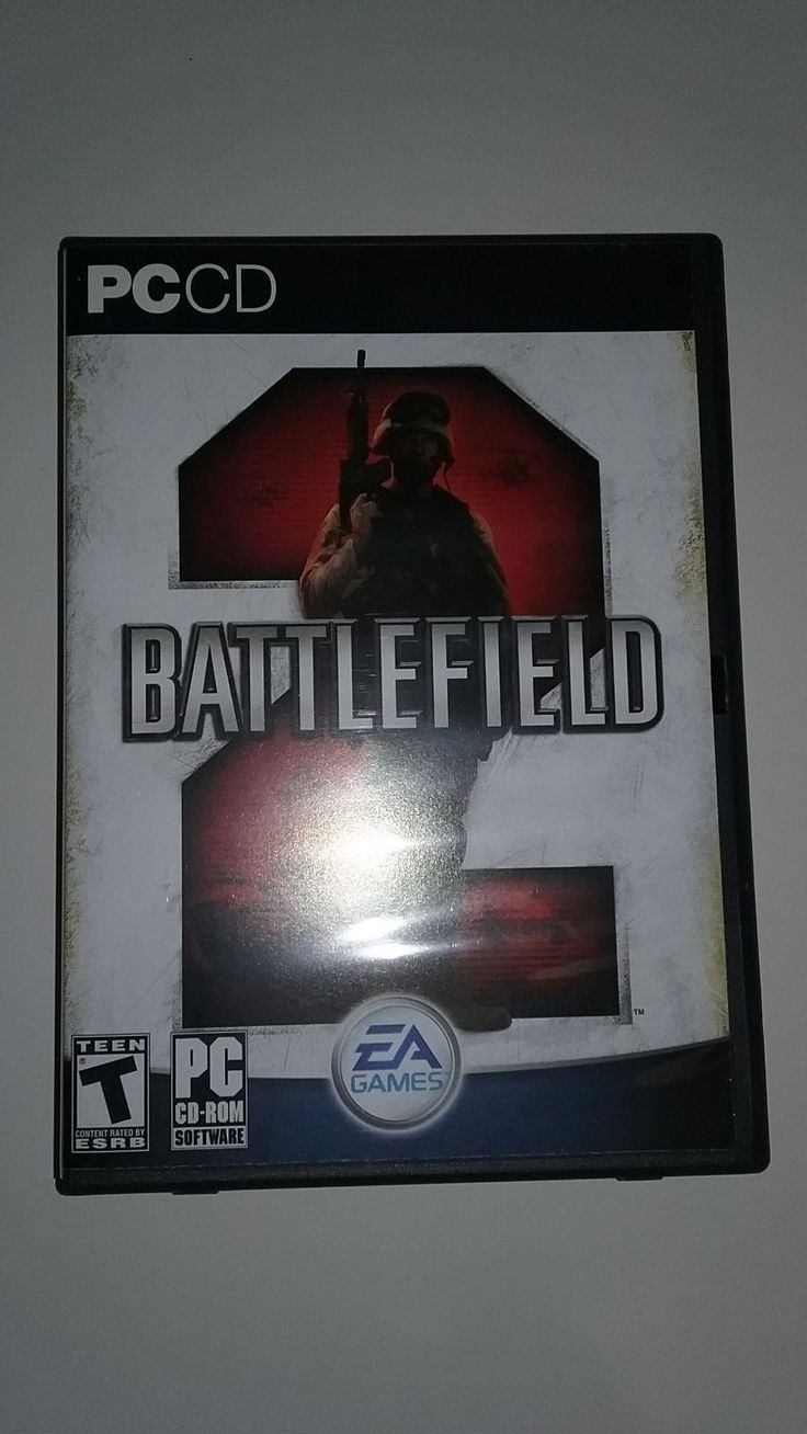 PC DVD computer game'' battlefield 2''