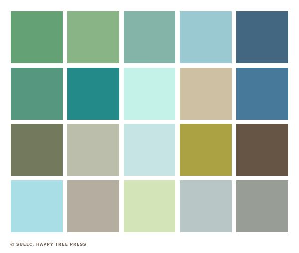 Soft palette beige brown and yellow green hues this for Soft brown paint colors