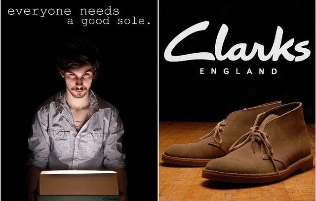 Clarks Ad by Devin Hein, via Flickr