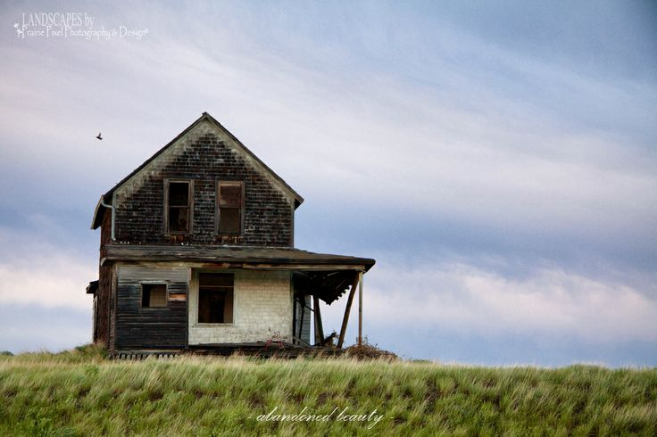 An old abandoned farm house taken in SW Saskatchewan. Beautiful with a storm brewing in the background!  Photo credit: Lori Bote of Prairie Pixel Photography