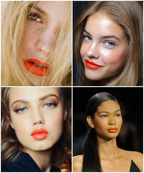 Spring 2014 Beauty {An Orange Lip} GET THE LOOK: Mary Kay Creme Lipstick: Sunny Citrus & NouriShine Gloss: Mango Tango