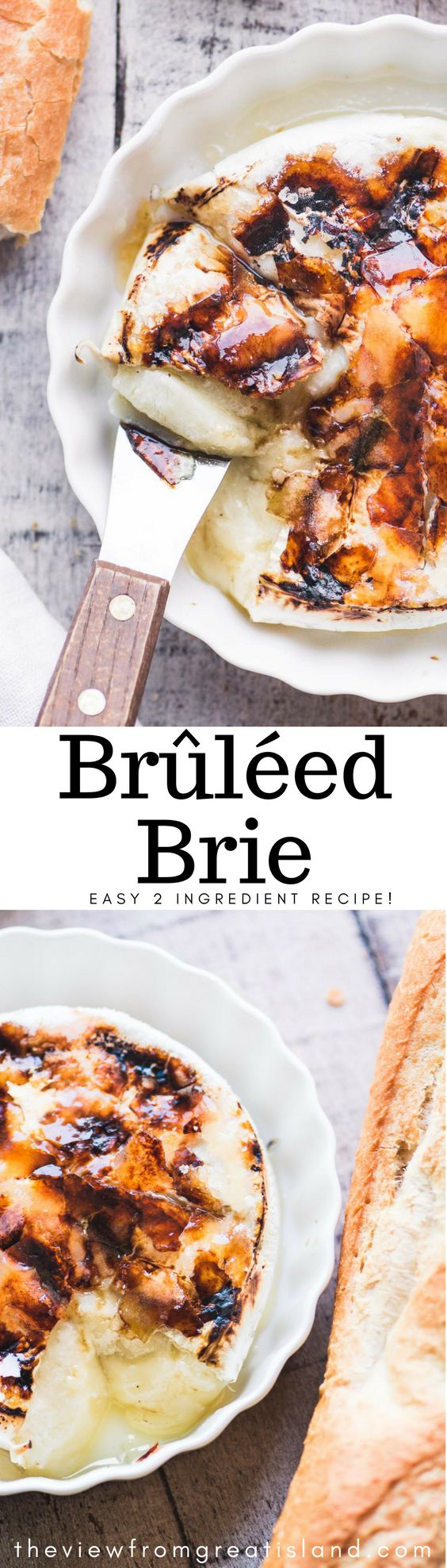 Brûléed Brie ~ this is your wow appetizer for the season guys ~ you only need a wheel of Brie and some sugar to do this, and the results speak for themselves.
