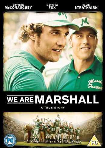 We are Marshall.  It's NOT a football movie.  Now go watch it. :)  <3 <3 <3 <3 <3