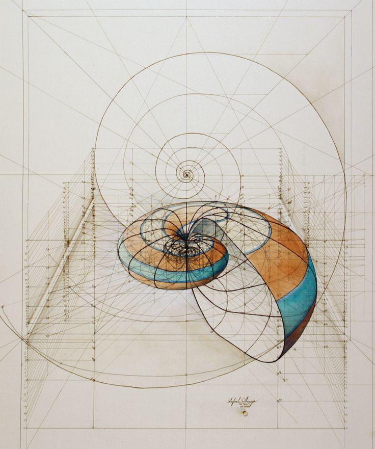40年の間、ヴェネズエラ出身のアーティスト、ラファエル・アラウージョは自然界に見られる美しい幾何学模様をイラストにしてきた。そして今年、彼はその美しい作品の数々を『The Golden Ratio Coloring Book』という1冊の塗