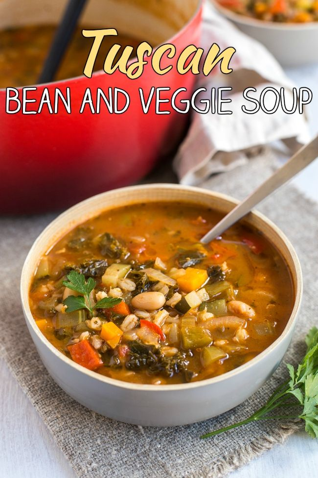 666 best simple vegetarian recipes amuse your bouche images on tuscan bean and veggie soup a super hearty vegetarian vegan soup thats full of forumfinder Gallery
