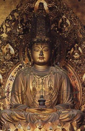 快慶 宝冠弥勒菩薩像 1192年?? 京都・醍醐寺 三宝院