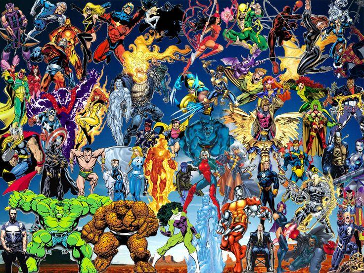 dc heroes   All Versions of Superman Vs Marvel Earth Heroes, Shiar, Skrulls..