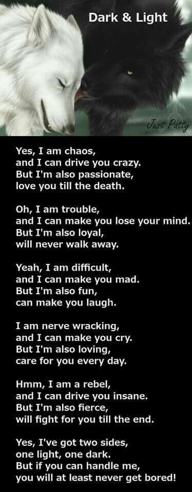 ~Wolf Poem~