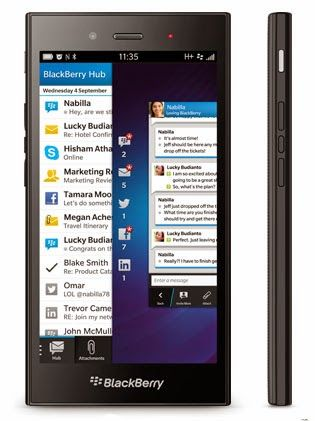 BlackBerry Z3 with 5-inch qHD screen and BlackBerry 10 OS launched in India for ₹15,990 (INR).