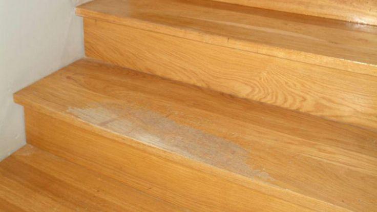 Las 25 mejores ideas sobre pasamanos de la escalera de - Reparar madera ...