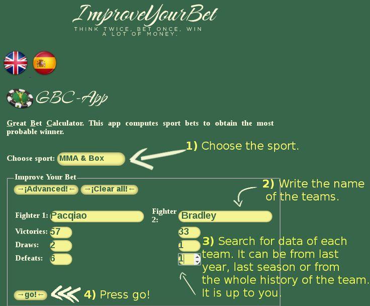 ImproveYourBet Sports bet calculator sportsbooking