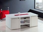 Fotografía del catálogo de muebles auxiliares de la firma MODULEY, Mesa auxiliar PEKIN