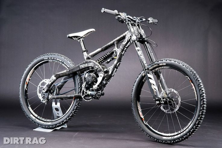 PRIORITY CYCLES Carbon Gearbox Belt Drive DH BIKE