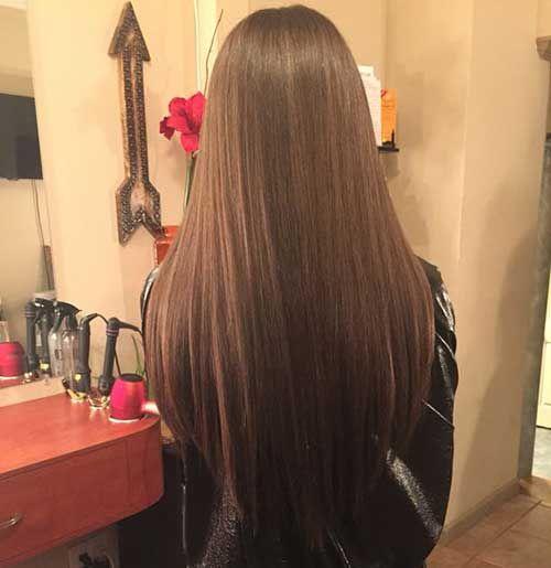 V-Form Lange Haarschnitte Alle Damen Sehen Sollte    #neueFrisuren #frisuren #2017 #bestfrisuren #bestenhaar  #beliebtehaar #haarmode #mode  #Haarschnitte