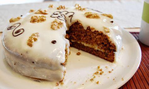 Mondi e Sapori: Carrot Cake (Torta di carote all'inglese)