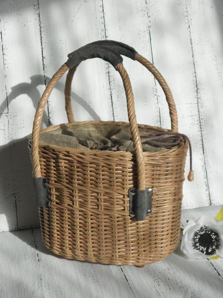 Wicker Basket Backpack : Best kurvetasker wicker bags straw images on