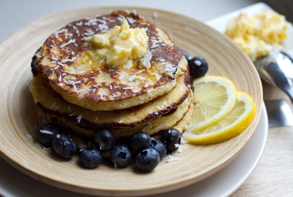 Irena Macri from eat drink paleo shares her coconut pancakes recipe. All kinds of yum!