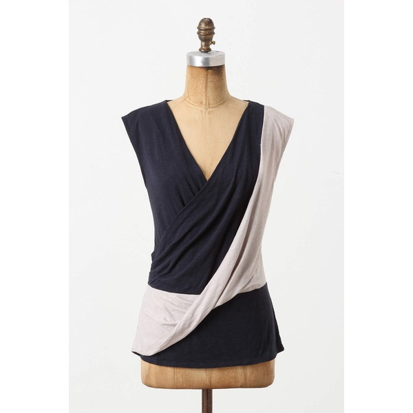 Crisscrossed Top via Polyvore