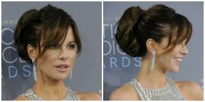 Adding in long bangs can dress up an otherwise boring hairstyle. These styles flatter almost every face shape and work with most hair textures.: Long Bangs on a Ponytail