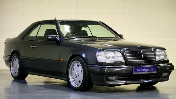 W 124 coupe