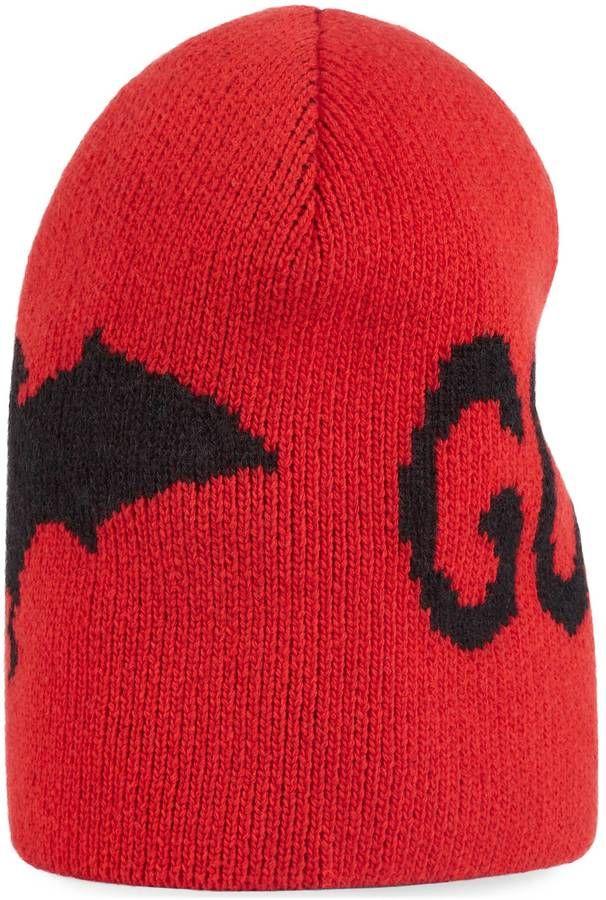 500e69bca13 Wool hat with bat http   shopstyle.it l u1zT