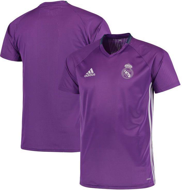 Real Madrid adidas 2016/17 Training Jersey - Purple/White http://feedproxy.google.com/fashiongoshoesa