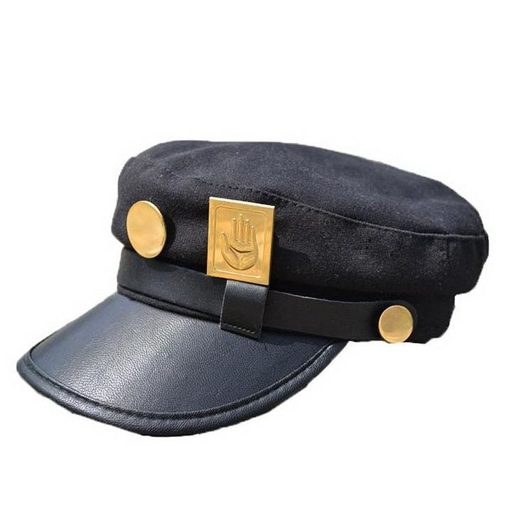 XCOSER Teens Jotaro Cosplay Visored Baseball Cap Hat Props * Continue to the product at the image link.