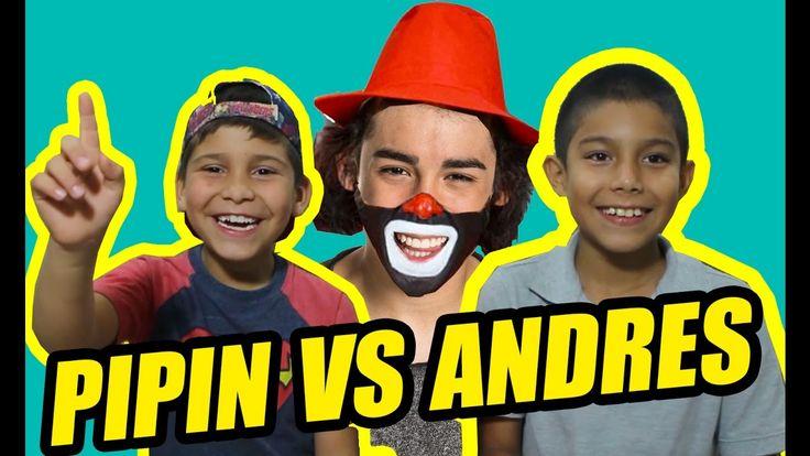 CEPILLIN ES MARIO BAUTISTA! | Pipin vs. Andres