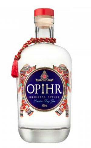 Opihr Gin - great served with cracked black pepper and basil leaves...