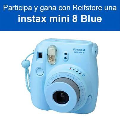 Concurso: Comparte la foto de una de las cámaras Instax mini  de  Reifstore.cl y gana el modelo que más te guste.