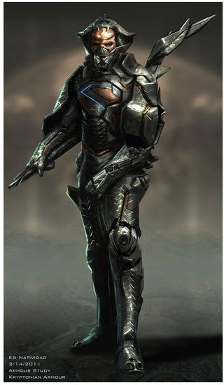 man of steel concept art puts zod in more alien armor man of steel costume design and armors. Black Bedroom Furniture Sets. Home Design Ideas