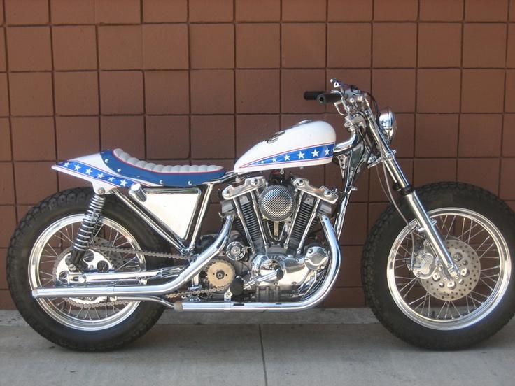 Evel Knievel S Harley Davidson Xl1000 Up For Auction: Evel Knievel Bike