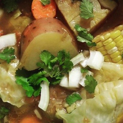 "Caldo De Res (Beef Soup) I ""ove this soup. It is soo good. My favorite mexican restaurant serves a caldo de res that I love, and I have been looking for a recipe to duplicate it at home and this is very close."""