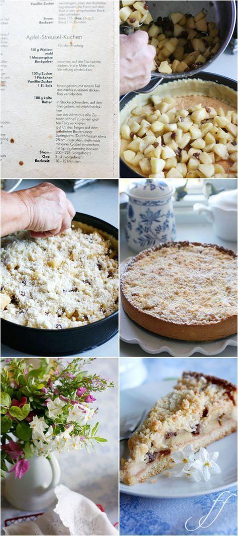 Torta di Mele streusel: crumble di mele con ripieno stile strudel... da provare!