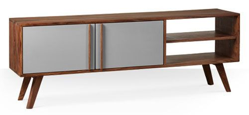 Midcentury-style Cleaver media unit at Swoon Editions