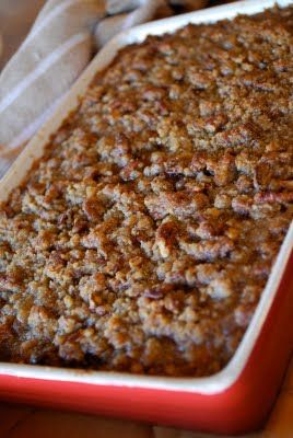 Praline Pecan Sweet Potatoes ~ I have been making this dish for many years.  It is FABULOUS!!!  :)