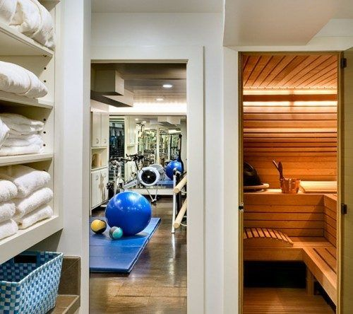 Home Gym Design Ideas Basement: My Dream House: Assembly Required (55 Photos)