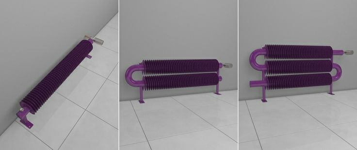 Retro Revolution FO is the steel radiator with the spiral made for mounting on the floor. This HOTHOT radiator is suitable not only into the big hall, but also into the meeting room, office or living room. In simple terms, this heater fits into every interiors with an industrial spirit.