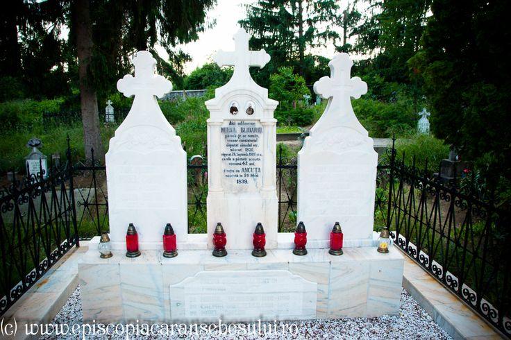 "Romanian Orthodox Church ""Falling Asleep of the Ever-Virgin Mary"" from Prilipeț, Caraș-Severin County, Romania The Church was built in 1831. Romanian Orthodox Diocese of Caransebeș. Funeral monument."