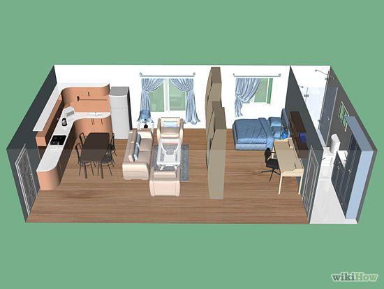 Decorating An Efficiency Apartment best 20+ studio apartment partition ideas on pinterest | studio
