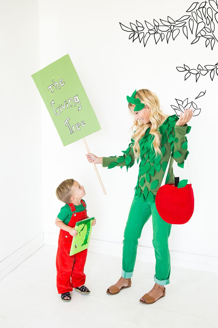 The Giving Tree Parent and Child Costumes