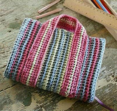 Crochet Book Cover Pattern ( Book Protector )