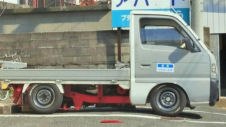Suzuki Carry Kei truck | Lowered, Slammed, JDM